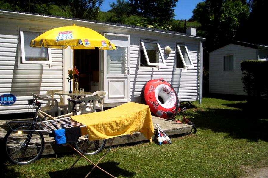 Location Mobil Home 3 Pièces 4 Personnes - Camping Beau Rivage****-1